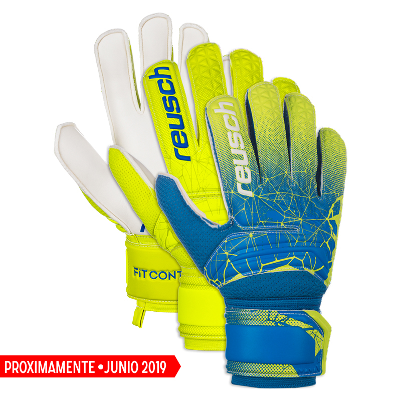 Guante Reusch Fit Control Solid Sd 2019 Junior